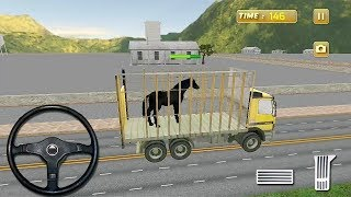 Horse Transport Truck Sim Game - Tuk Tuk Truck Transport Game - Horse Games For Kids