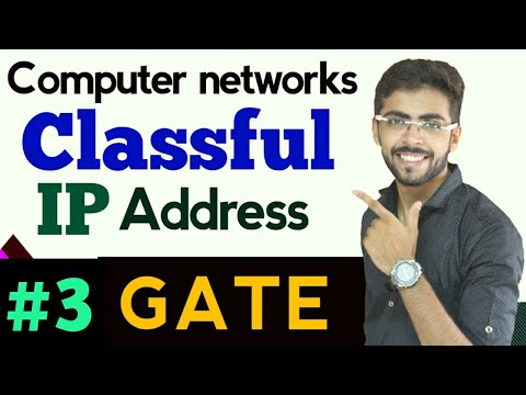 Classful Ip Address | classful addressing in hindi | Computer Networks Lectures #03