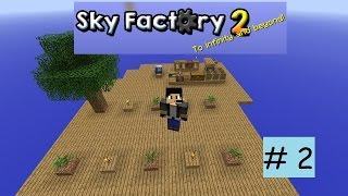 Minecraft Sky Factory 2 #2 Tinkers Construct [german/deutsch]