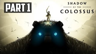 🔔 Shadow Of the Colossus | Part 1 - A Truly Amazing Game! Full Gameplay Walkthrough PS4 Pro 1080p