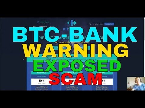 BTC Bank - Trading Crypto Review (EXPOSED) SCAMMERS