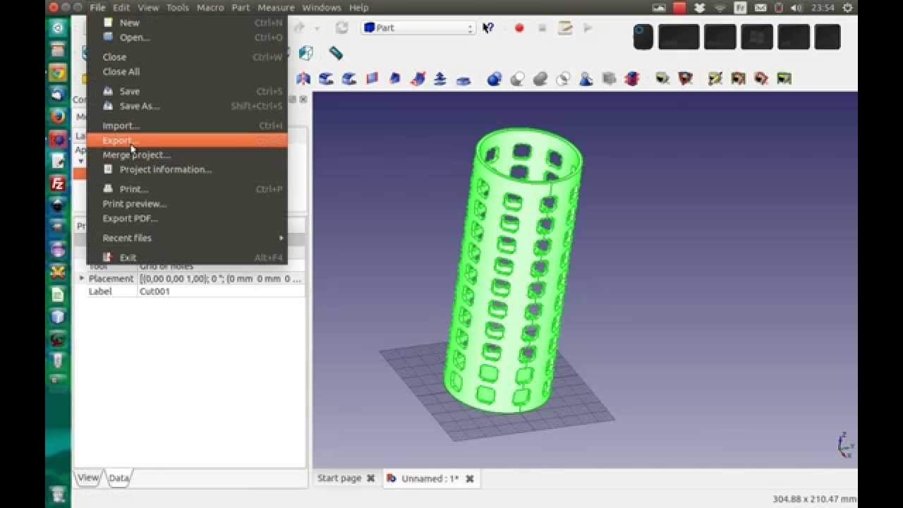 Using Freecad For A 3d Printing Project Youtube