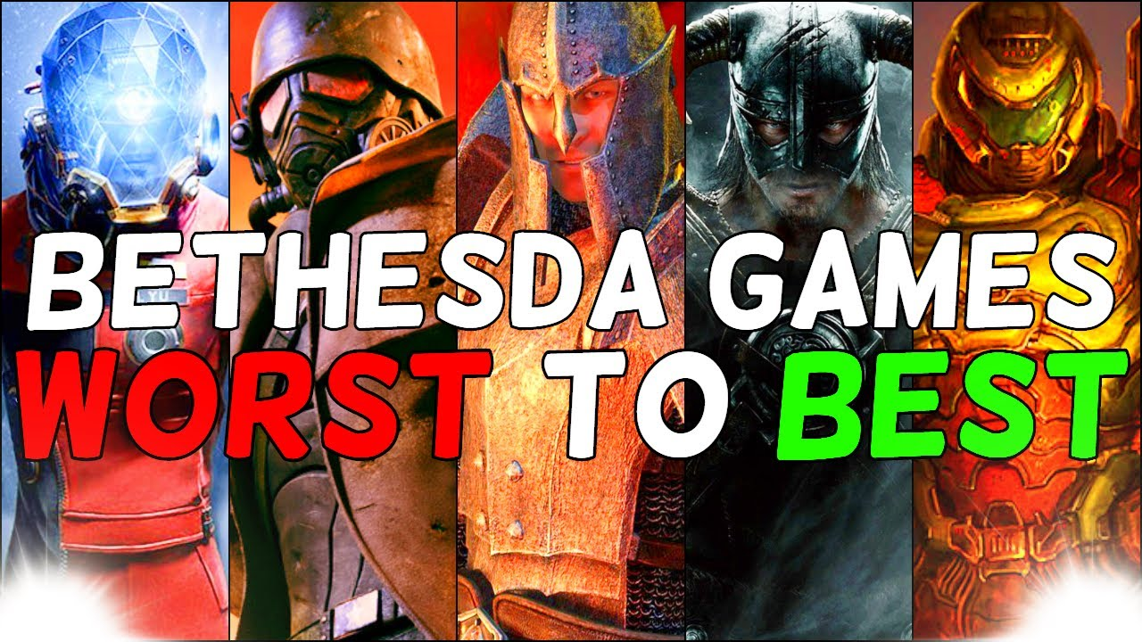 Download Bethesda Games from Worst to Best