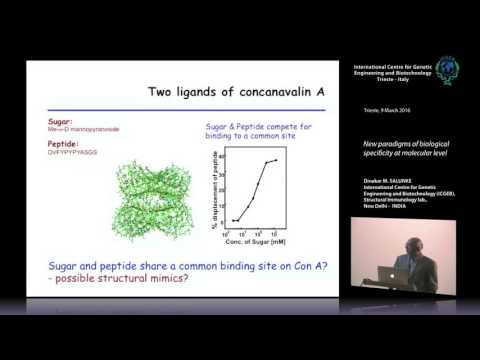 D.M. Salunke - New paradigms of specificity at molecular level in immune recognition