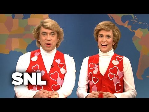 Weekend Update: Garth and Kat Sing Valentine's Day Songs