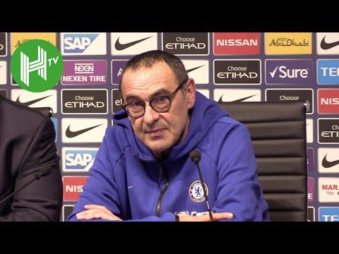 Man City 6-0 Chelsea | Sarri: I'm worried for my team, not my job!