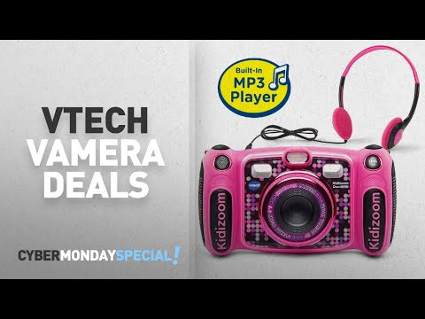 Top Cyber Monday Vtech Camera Deals: VTech Kidizoom DUO 5.0 Deluxe Digital Camera with MP3 Player