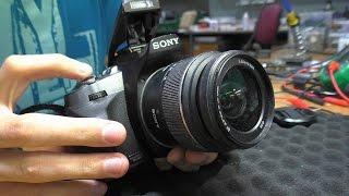 Не работает вспышка. Зеркальная фотокамера Sony Alpha DSLR-A330. РЕМОНТ