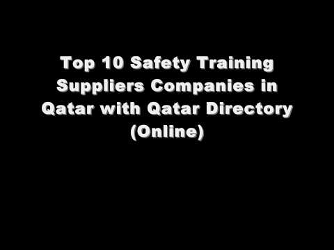 Top 10 Safety Training Supplies Companies in Doha, Qatar