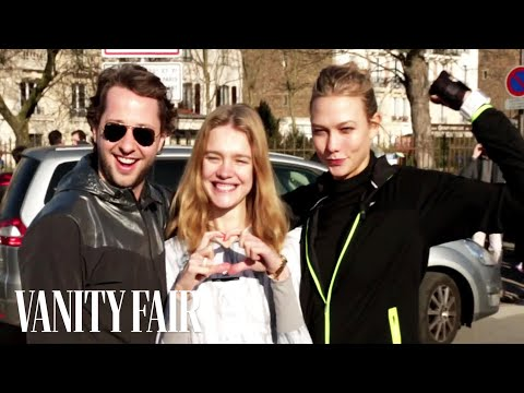 Karlie Kloss and Natalia Vodianova Run Half-Marathon During Paris Fashion Week