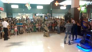 Robotul TITAN la Brăila Mall !
