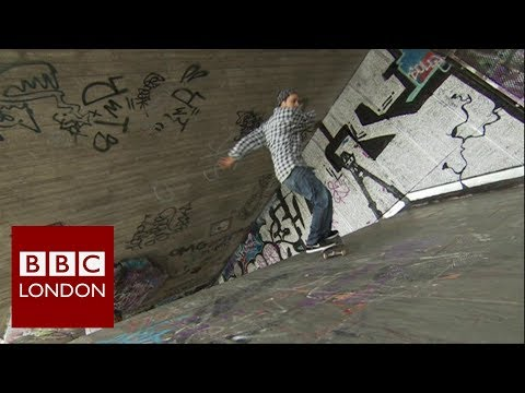 Southbank skateboarding gets a new lease of life - BBC London