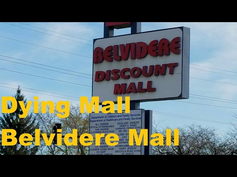 Dead Mall: Silent Exploring Waukegan Belvidere Mall