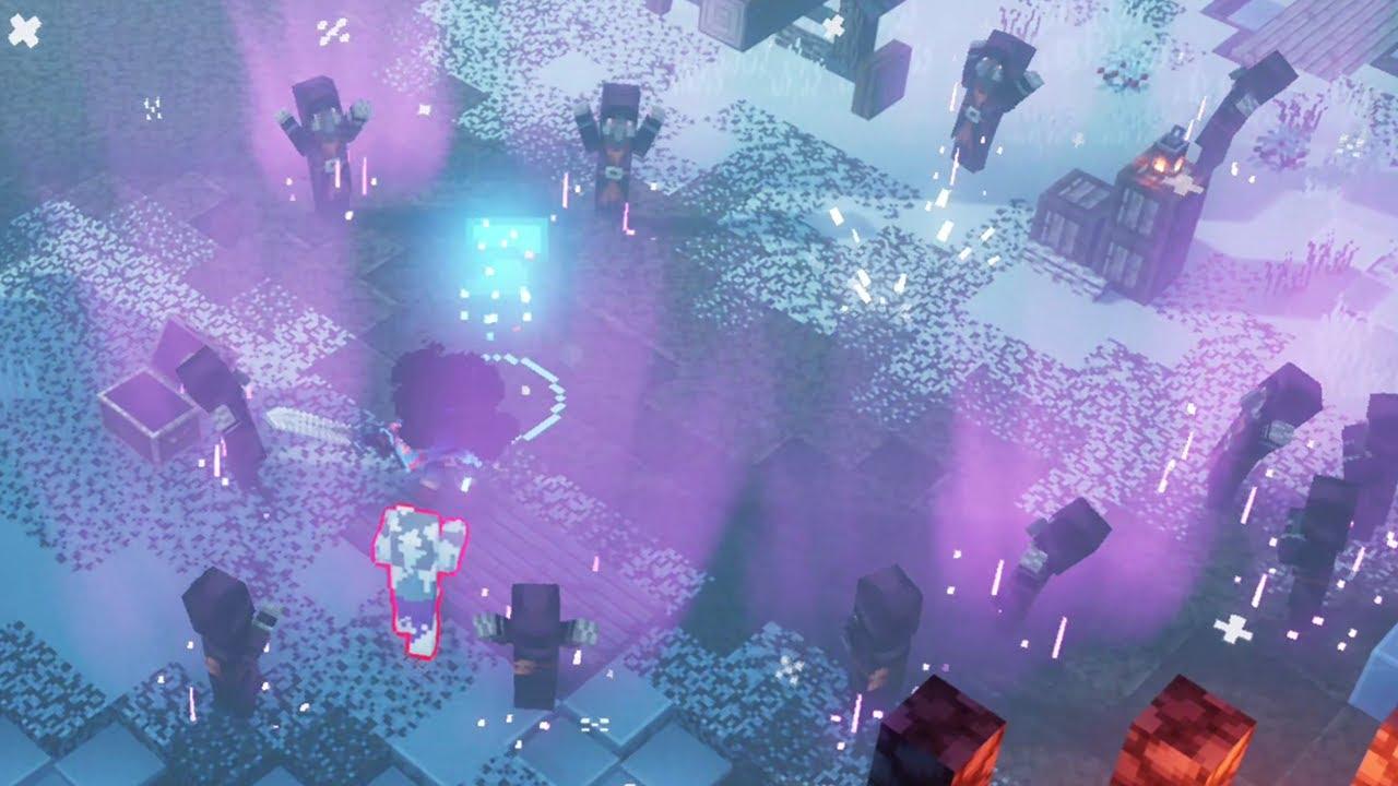 Minecraft Dungeons Illusioner Boss Fight YouTube