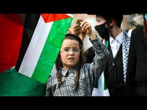İsrail'in Batı Şeria'daki ilhak planı ABD ve Avrupa ülkelerinde protesto edildi