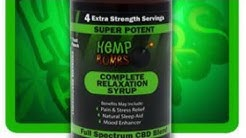 HEMP BOMB CBD RELAXATION SYRUP REVIEW