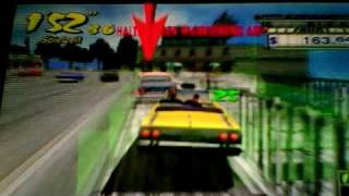 Crazy Taxi - Fare Wars [PSP] Gameplay