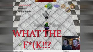 Zelda Ocarina Of Time Chaos Edition ROM Hack - Part 16 DARK LINK FROM NOWHERE!