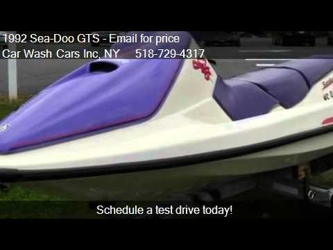 1992 Sea Doo GTS 3 SEATER For Sale In Glenmont NY 12077 At