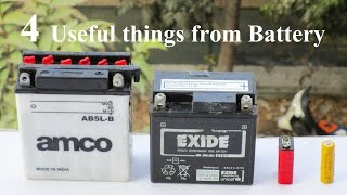 4 useful things from battery compilation 4 awesome ideas