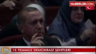 Külliye'de duygusal anlar! 15 Temmuz için hazırlanan video Erdoğan'ı da Yıldırım'ı da ağlattı