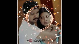 Vaseegara🎞️|Thalapathy Vijay Love Song💓|Trending BGM|Tamil Song |NariKutty🦊