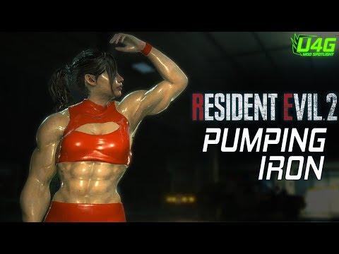 resident-evil-2-remake-mods-pumping-iron