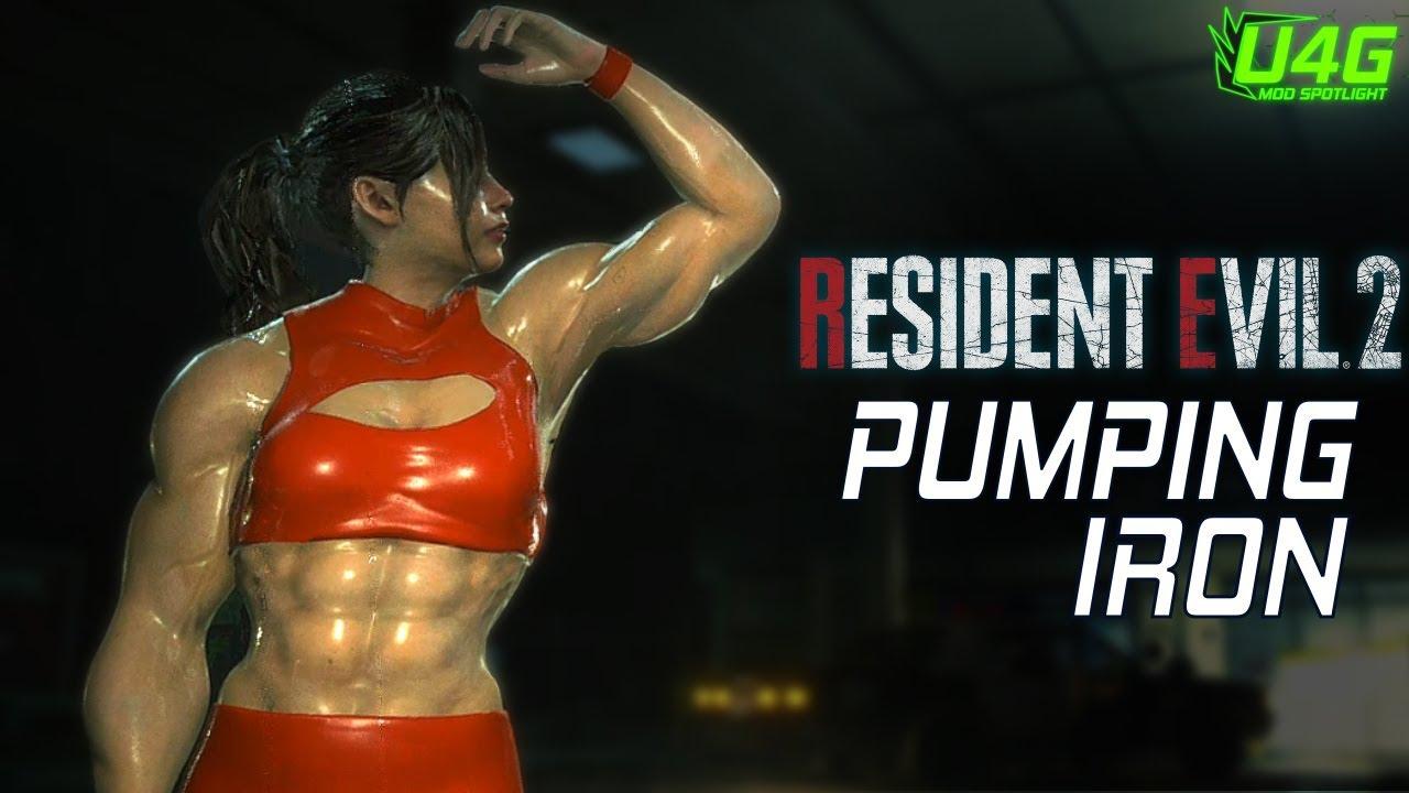 Resident Evil 2 Remake Mods Pumping Iron