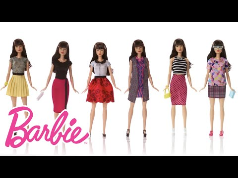 Cool Outfits in the Barbie Fashionistas Doll Lookbook | Barbie