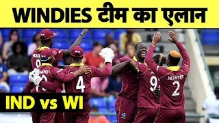 Download पहले दो T20Is के लिए Windies टीम हुई घोषित, Narine और Pollard की हुई वापसी | Sports Tak Mp3 and Videos