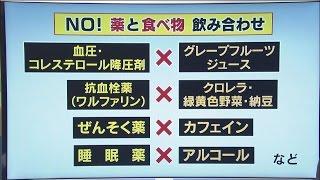 いわて元気○(マル) 【薬の正しい飲み方】(2016/5/26放送 ニュースプラス1いわて)