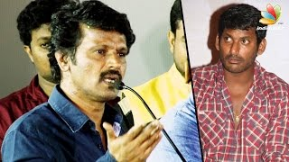 Cheran Angry with Vishal : Producer Council Election  | Latest Tamil Cinema News