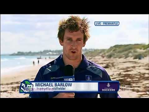 Sunday Footy Show - Michael Barlow Live. 8/9/13