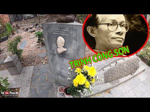 Ngôi mộ nhạc sĩ TRỊNH CÔNG SƠN, kỷ niệm ngày mất | Phong Bụi | Những bài nhạc hay nhất 1