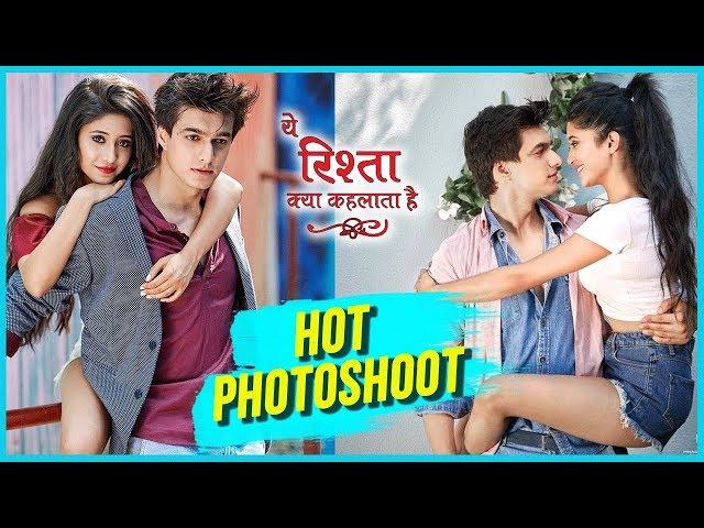 Shivangi Joshi And Mohsin Khan HOT And Sizzling Photoshoot | Yeh Rishta Kya Kehlata Hai