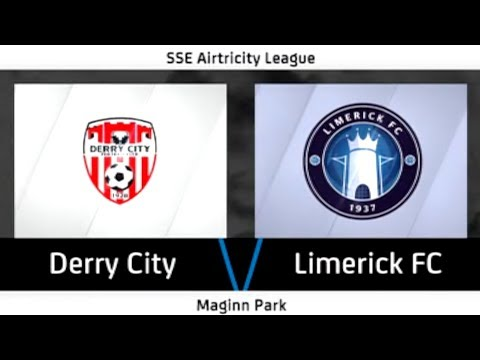 HIGHLIGHTS: Derry City 3-0 Limerick FC