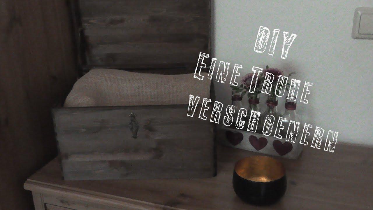 diy eine truhe verschnern teil 1 youtube - Dekoideen Kisten