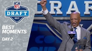 Best Moments of Rounds 2 & 3 | 2017 NFL Draft by : NFL