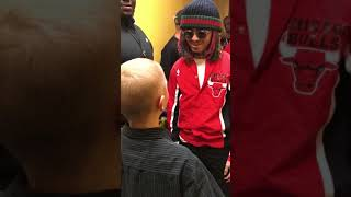 Lil Pump meets fan with cancer