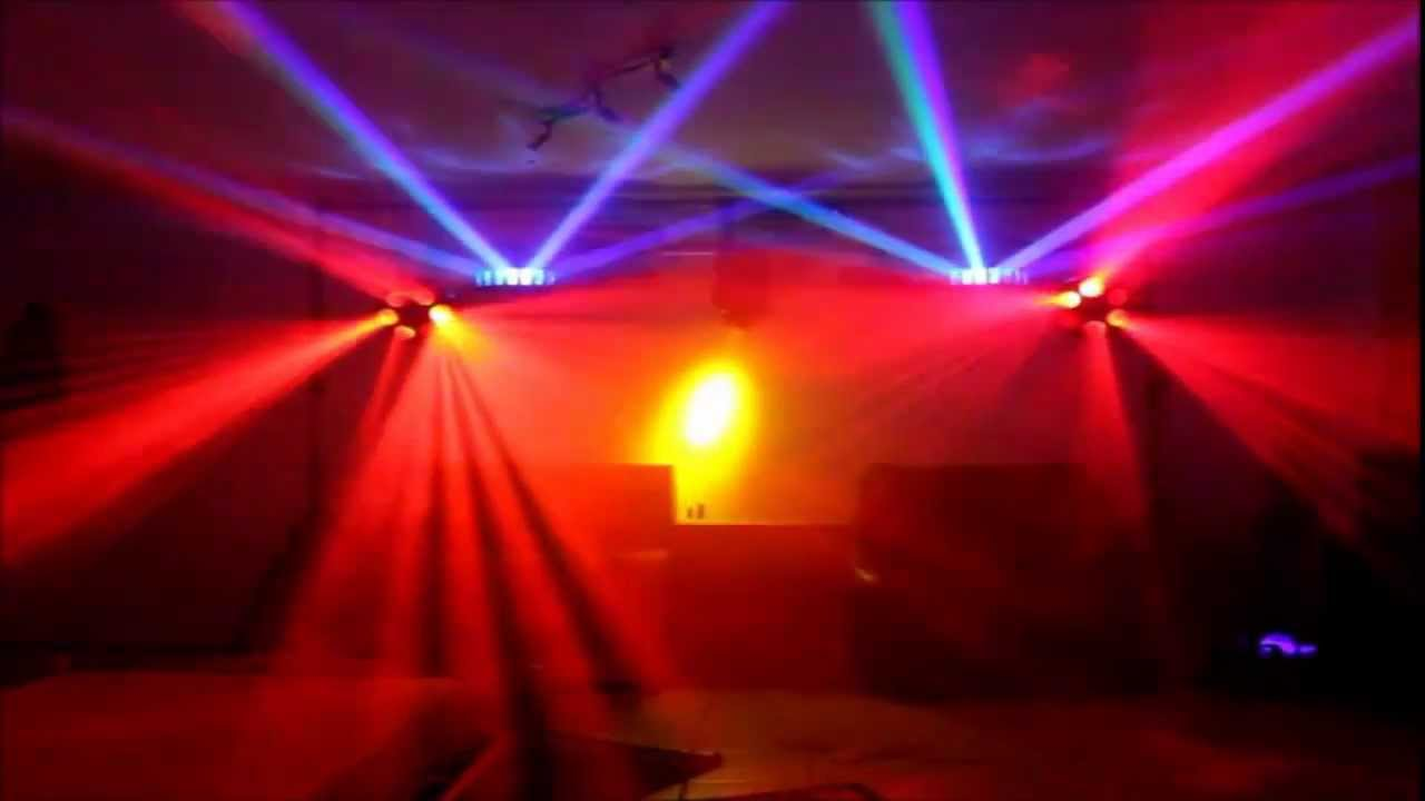 Party Feiern Dubstep Zimmer Party - Disco Lichter Show [hd] - Youtube