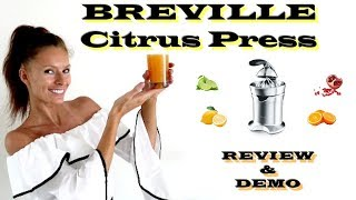 BREVILLE the CITRUS PRESS Pro …