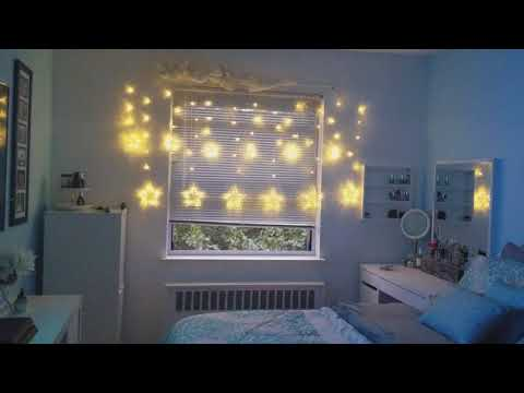 Ucharge star curtain lights, 8 modes