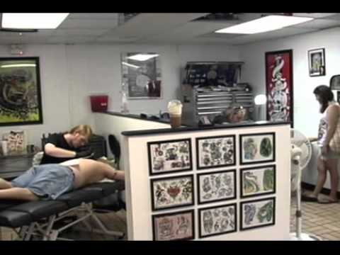 Five points custom tattoo youtube for Tattoo removal columbia sc