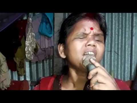 Chirodini Tumi Je Aamar - Karaoke Bengali Song By An Unknown Blind Woman