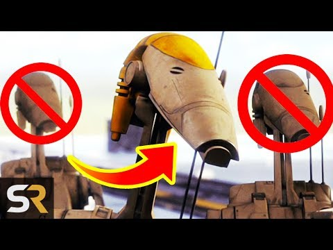 25 Star Wars Droid Deaths (In Under 3 Minutes)