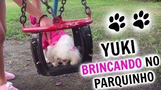 Yuki brincando e aprontando no parquinho :) ♡ Nosso Canal Principal...