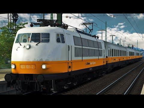 Lufthansa Airport Express Sonderzug Teil 2 | BR 103 101-2 | Hamburg - Hannover Train Simulator 2018