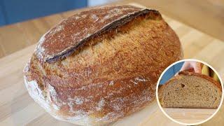 반죽기로 천연발효빵 만들기 - 고소한 옥수수 깜빠뉴 |…