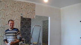 видео Как клеить виниловые обои на бумажной основе: полезные советы для отделки стен