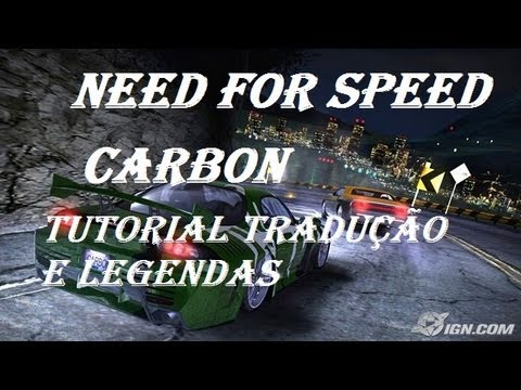 traduo do jogo need for speed carbon